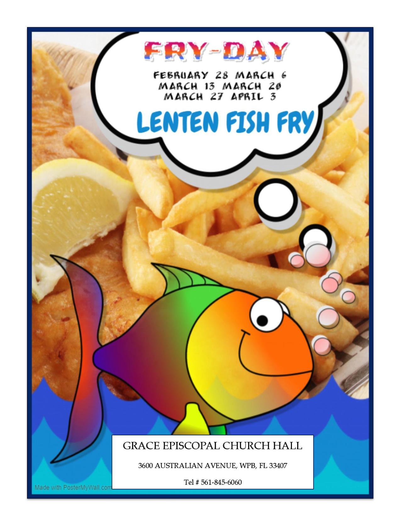 LENTEN FISH FRY